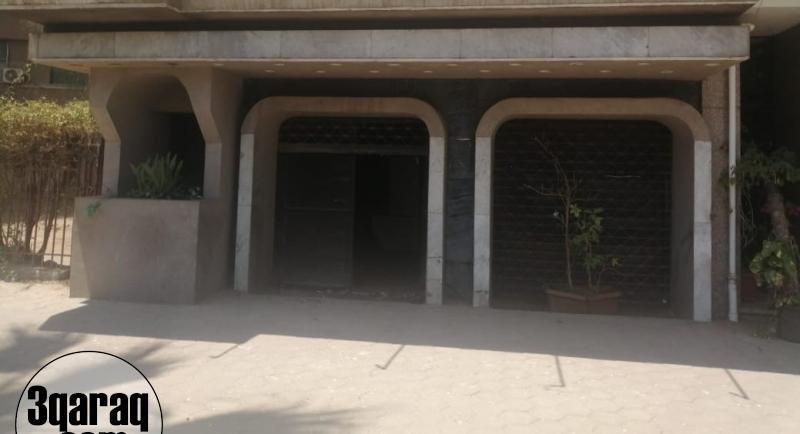 محل تجاري للبيع 260 متر واجهة علي النيل بالجيزة