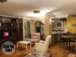 الرحاب ، شقة مفروشة للإيجار ، 120م بحديقة 60 م علي جاردن تري السوق التجاري وسيتي سكوير