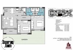 فكر لبعيد وامتلك شقة 90م بحديقة ب كمبوند ازادير 2 بالتجمع الخامس