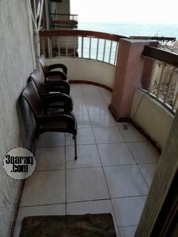 شقة للايجار مفروش -ميامى -الدور ٧-للأسر فقط