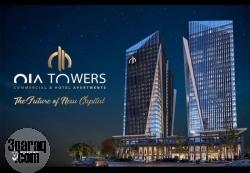 محل للبيع في  oia tower  بالعاصمه الاداريه