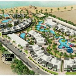 شاليه لقطة للبيع 3غرف بفيو مباشرع البحر في راس سدر