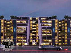 شقة للبيع 107 م + جاردن 110 م و سعر شامل التشطيب والجراج فى كابيتال هايتس 2